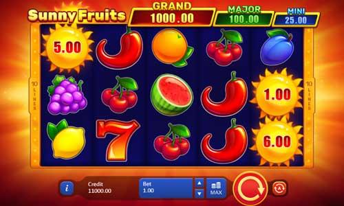 Sunny Fruits free slot