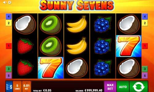 Sunny Sevens free slot