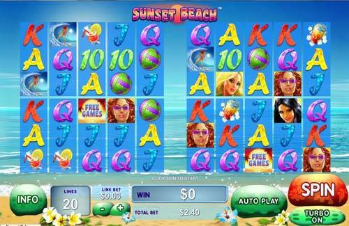 Sunset Beach free slot