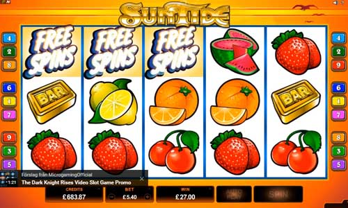 SunTide free slot