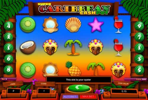 Super Caribbean Cashpot free slot