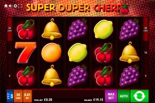 Super Duper Cherry free slot