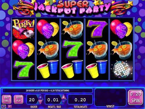 Super Jackpot Party casino slot