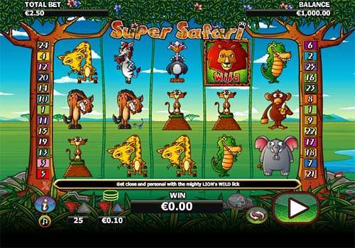 Super Safari free slot