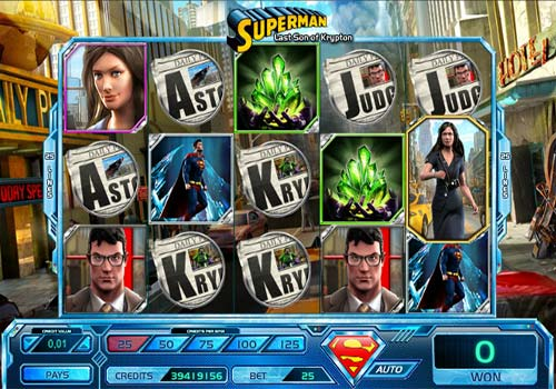 Superman Last Son of Krypton slot