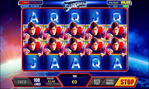 Superman free slot