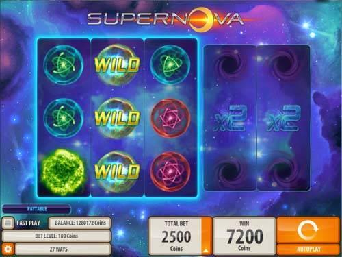 Supernova free slot