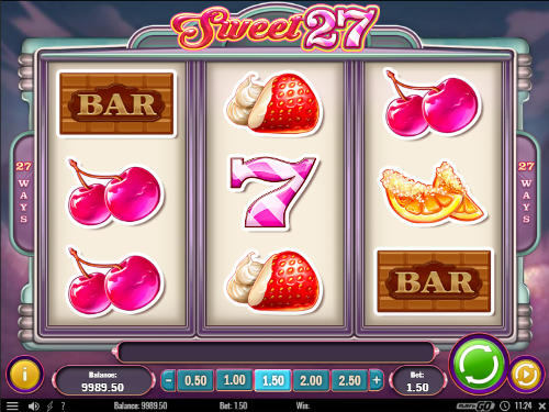 Sweet 27 casino slot