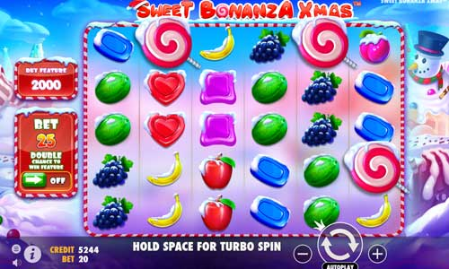 Sweet Bonanza Xmas casino slot