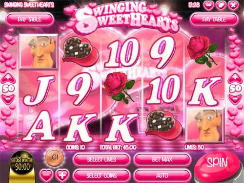 Swinging Sweethearts free slot