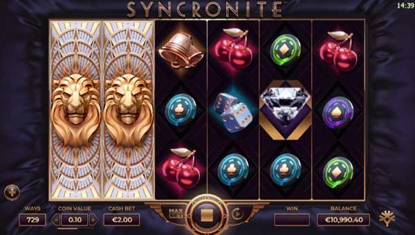 Syncronite free slot