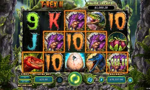 T-Rex 2 free us slot