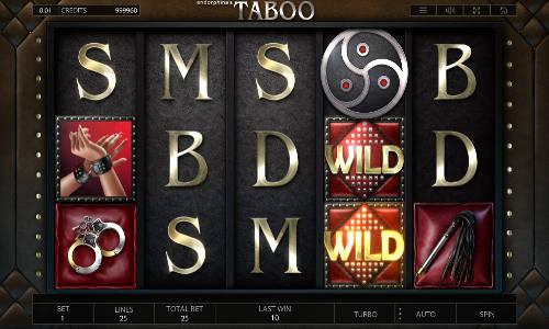 Taboo free slot