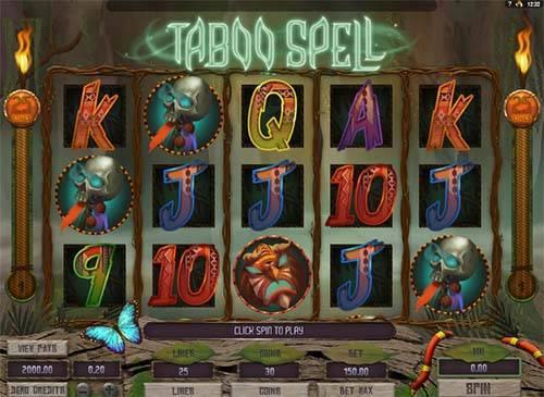 Taboo Spell free slot