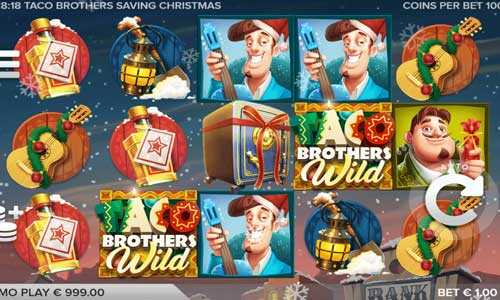Taco Brothers Saving Christmas free slot