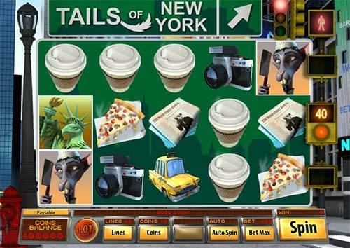 Tails of New York free slot