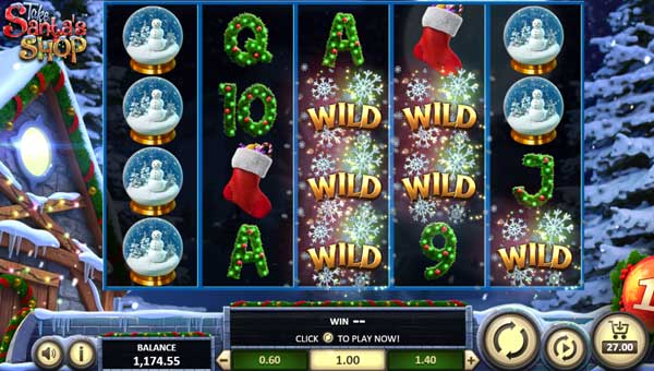 Take Santas Shop free slot