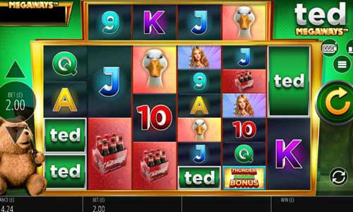 Ted Megawaysincreasing multiplier slot