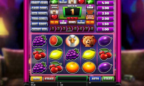 Ted Pub Fruit casino slot