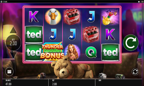 Ted free slot