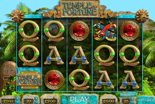 Temple of Fortune free slot