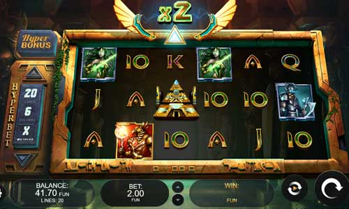 Temple of Heroes free slot