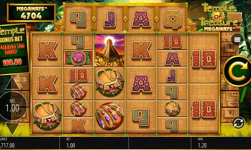Temple of Treasure Megaways free slot