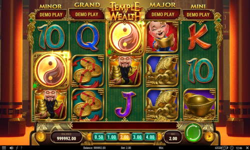 Temple of Wealthjackpot slot
