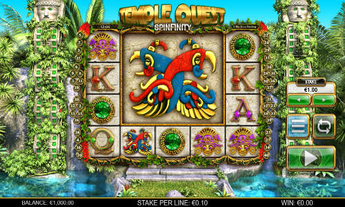 Temple Quest Spinfinity casino slot