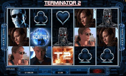 Terminator 2 free slot