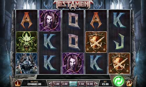 Testament free slot