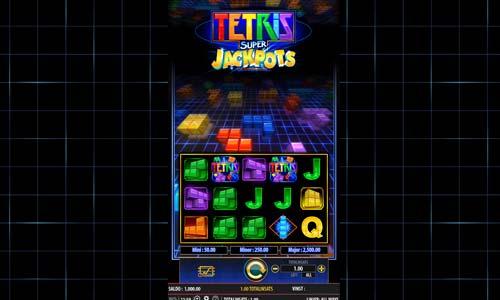 Tetris Super Jackpots free slot