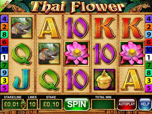 Thai Flower free slot