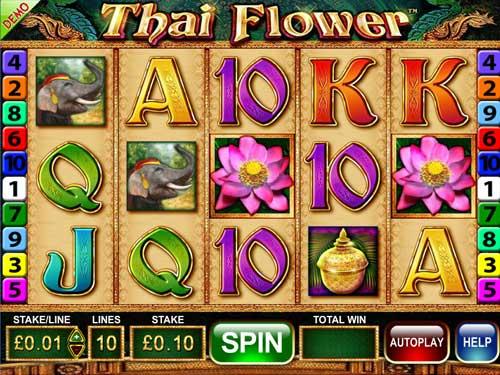 Thai Flower free slot