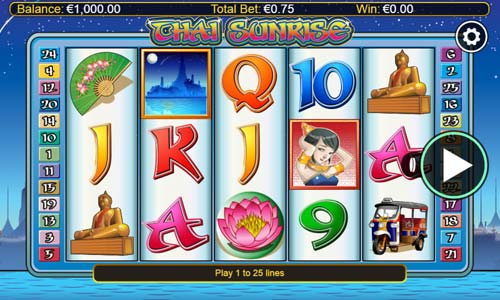 Thai Sunrise free slot