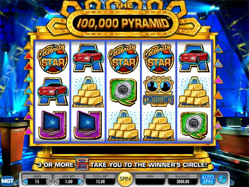 The 100,000 Pyramid free slot