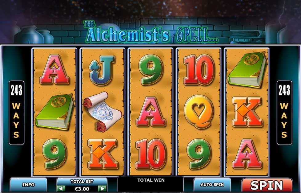 The Alchemists Spell free slot