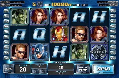 The Avengers casino slot