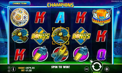 The Champions free slot