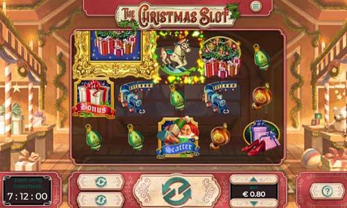 The Christmas Slotsymbol upgrade slot