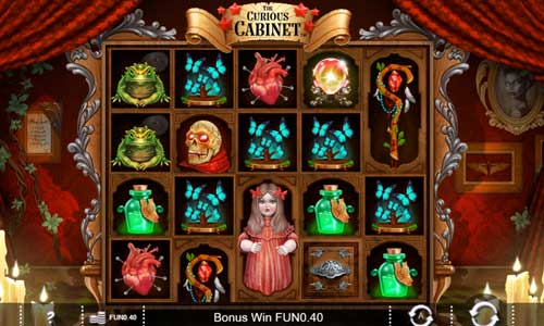 The Curious Cabinet free slot