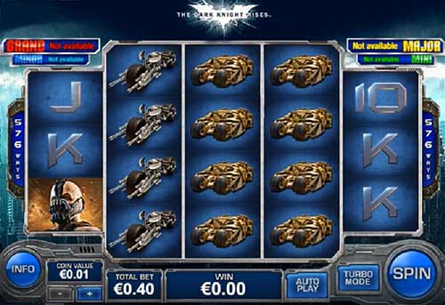 The Dark Knight free slot