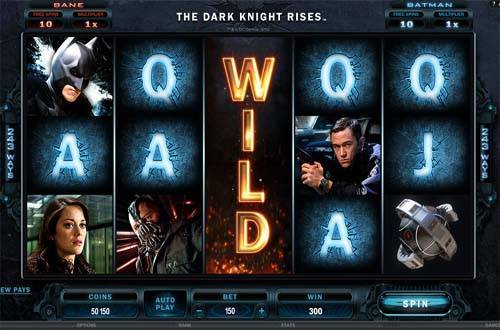 The Dark Knight Rises free slot