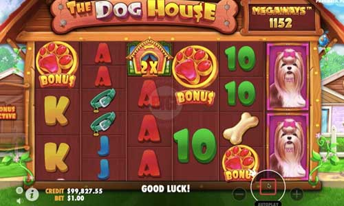 The Dog House Megawaysincreasing multiplier slot