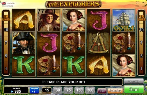The Explorers free slot
