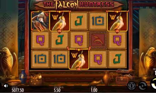 The Falcon Huntress free slot