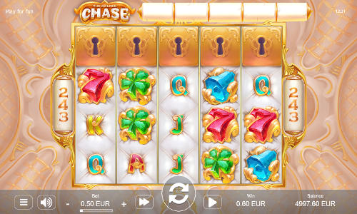 The Golden Chaseexpanding reels slot
