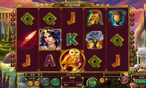The Golden Owl of Athena free slot