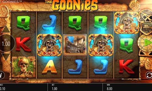 The Goonies free slot