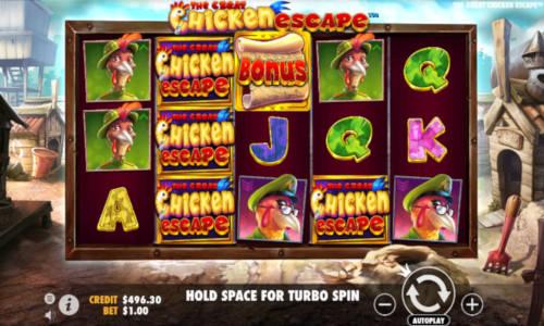 The Great Chicken Escape free slot